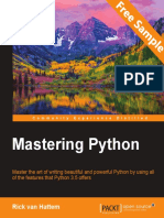 Mastering Python - Sample Chapter