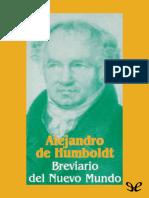 Von Humboldt Alexander - Breviario Del Nuevo Mundo .epub