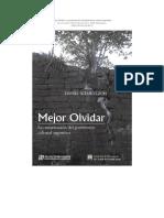 Mejor Olvidar Historia de la Conservacion del Patrimonio cultural