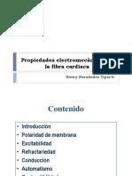 Clase 1 Propiedades Electromecanicas de La Fibra Cardiaca