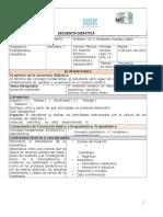 Secuencia Didáctica Probabilidad y Estadística 1 e Instrumentos de Evaluación