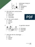 Latihan Sd 1ips Bab 1