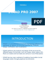 Staad Pro 2007