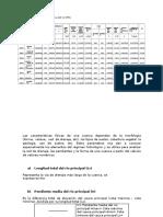 preliminar parametros morfométricos