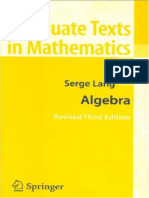 Algebra Lang