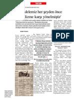 Atatürk'ün Lenin'e Gönderdiği Sansürlenen Mektubu