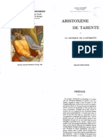 L. Laloy, Aristoxene de Tarente et la musique de l'antiquité