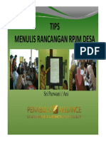 TIPS Penyusunan RPJMDes Ani Compatibility Mode