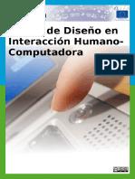 Temas de Diseno en Interaccion Humano Computadora CC by SA 3.0