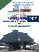 Standar Teknis Bangunan Stasiun Ka (Bandung_juni-2013)
