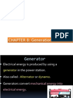Chapter 8 Generation of Electricity