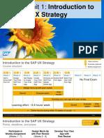 OpenSAP Fiux2 Week 01 Unit 01 UXStrategyIntro Presentation