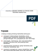 5. UU No.35 2009 Narkotika