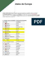 Países y capitales de Europa.docx