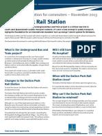 Dutton Park Fact Sheet