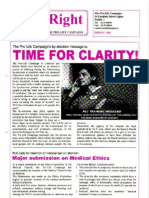 Pro Life Campaign Ireland Newsletter - Birthright Spring 1998