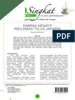2016_April 2 Dampak Negatif Reklamasi Teluk Jakarta