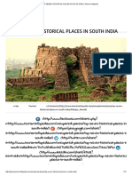 Top Seven Historical Places in South India _ Tourism Infopedia