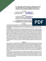 APLICACIÓN DE LA DINÁMICA DE FLUIDOS COMPUTACIONAL EMPLEANDO EL MÉTODO DE LOS ELEMENTOS FINITOS Y VOLUMENES FINITOS EN EL MODELAMIENTO DE FLUJOS