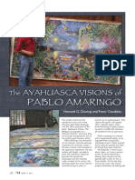 The Ayahuasca Visions of Pablo Amaringo - Interview with the great Visionary Artist