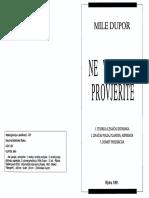MILE DUPOR - Ne vjerujte - Provjerite.pdf