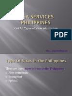 Visa Services Philippines