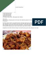 Resepi Ayam Masak Serai