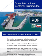 Davao International Container Terminal presentation - Mindanao Shipping Conference 2016