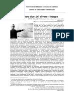 A estrutura dos Fait Divers - por Roland Barthes