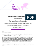 Irangate_ the Israel Connection Excerpted From the Book the Iran Contra Connection Secret Teams and Covert Operations in the Reagan Era