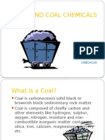 COAL AND COAL CHEMICALS .pptx