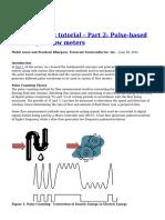 Flow Metering Tutorial Part 2 Pulse Based Counting in Flow Meters