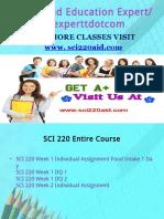 SCI 220 Aid Education Expert/sci220aidexpert.com