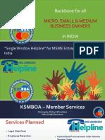 KSMBOA – Member Services Booklet