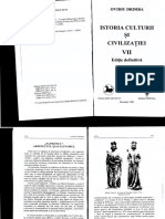 Ovidiu Drimba- ISTORIA CULTURII SI CIVILTZATIEI VII