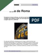 Guia de Roma PDF