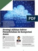 Strategi Alihkan Sektor Pemerintahan ke Komputasi Awan