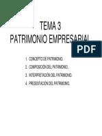 TEMA 03. Patrimonio Empresarial
