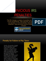 Pernicious IRS Penalties