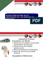 Estructura de La Prestacion de Los Servicios de Atencion - SET - PARAGUAY