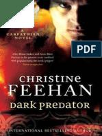 Christine Feehan - Kárpátok Vámpírjai 22 - Sötét Ragadozó (Zacarias de La Cruz & Marguarita Fernandez)