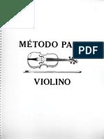 VIOLINO - MÉTODO