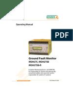 Bender IRDH275 Manual - 07-04