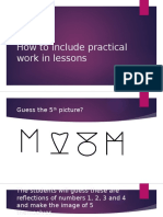 How to make practical work a part of classroom learning