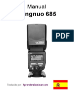 Manual Yongnuo Yn685 ES
