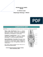 Pathology of Joints