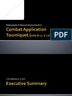 Combat Application Tourniquet (GEN III vs E-CAT)