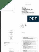 237229835 Tratat de Psihoterapie Cognitiv Comportamentala IRINA HOLDEVICI