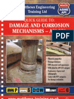 Damage and Corrosion Mechanisms-API 571
