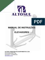 Manual Esquema de Ligação de Elevador Automotivo Trifásico e Monofásico